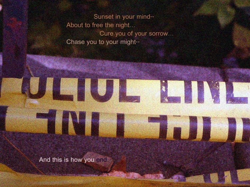 police line copy